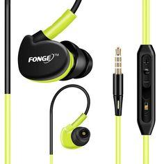 Sport earphone running Headphones intelligent handsfree Headset 3.5mm mic Earbuds for iPhone Samsung Xiaomi mp3