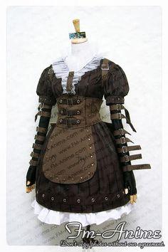 Alice Madness Returns Dresses | Alice: Madness Returns Alice Steam Cosplay Costume - $150.00 : FM ...