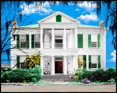 pictures of old southern mansions - Google Search