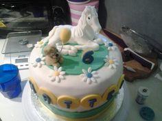 Horsecake#yellowbluwhite#reallyhorse#amazing#pdz#cavallopdz#pastadizucchero#tortaconcavallo#