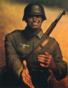 Nazi Germany - Friendly Nazi Solider