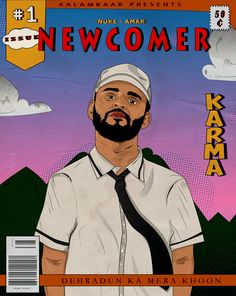 karma rapper new ep cover Dehradun, Karma, Rapper, Cover, Illustration, Movie Posters, Film Poster, Illustrations, Popcorn Posters
