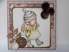 The Friendly Hedgehog, #Gorjuss, #Card