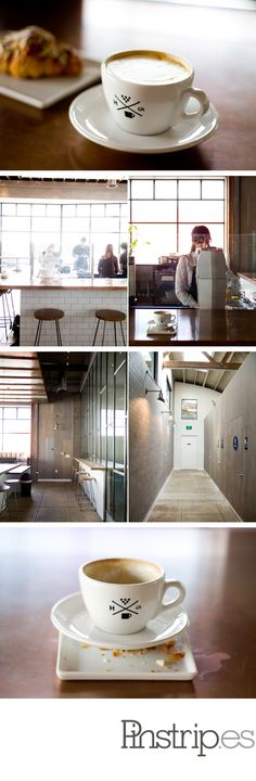 Handsome Coffee, a full-service roaster and coffee bar based in the arts district of downtown Los Angeles.
