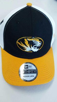 newest 441f1 06b4b Missouri Tigers Logo Stretch 39THIRTY Hat by New Era www.shopmosports.com