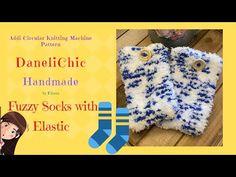 Addi Knitting Machine, Circular Knitting Machine, Knitting Machine Patterns, Diy Videos, Free Pattern, Socks, Projects, Youtube, Handmade