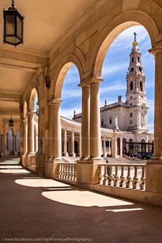 Fatima in Portugal Visit Portugal, Portugal Travel, Spain And Portugal, Faro Portugal, Algarve, Beautiful Buildings, Beautiful Places, Places To Travel, Places To Visit