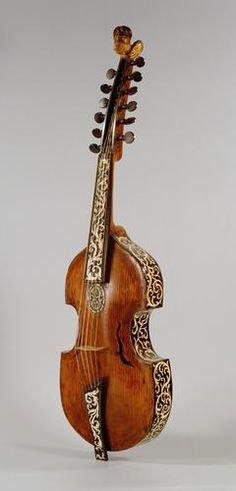 Viola d'amore - is is a 7- or 6-stringed musical instrument with sympathetic strings similar to a violin, but a viola has a warmer sound.