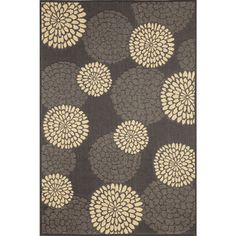 Multi Floral Outdoor Area Rug (4'11 x 7'6) Today  $114.99      Item #: 16175094  Very High Sellout Risk Placed order 9/11/14