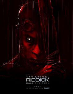 """""""Riddick"""" ganha um novo cartaz http://cinemabh.com/imagens/riddick-ganha-um-novo-cartaz  #Riddick"""