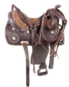 Trail Pleasure Horse Saddle