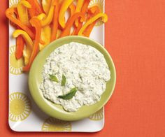 Artichoke and Herb Yogurt Dip