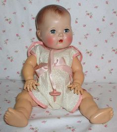 1950's Tiny Tears Doll - I remember her, must of been 4 or 5.