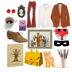 """""""Fantastic Fox"""" by papersparrow on Polyvore"""