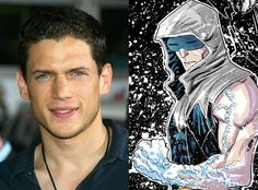 Wentworth Miller will be Captain Cold in The Flash TV show