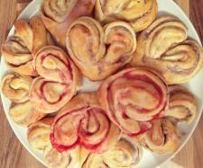 Rezept Süße Herzen mit Füllung von GrazVanessa1991 - Rezept der Kategorie Backen süß