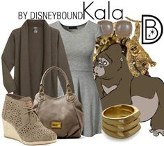 DisneyBound is meant to be inspiration for you to pull together your own outfits which work for your body and wallet whether from your closet or local mall. As to Disney artwork/properties: ©Disney Cute Disney, Disney Style, Disney Inspired Fashion, Disney Fashion, Women's Fashion, Disney Dress Up, Disney Clothes, Tarzan Disney, Classic Disney Movies