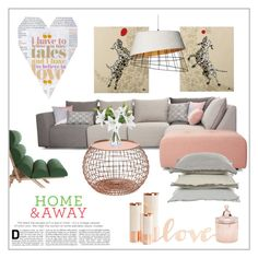 """""""Home"""" by frenchfriesblackmg ❤ liked on Polyvore featuring interior, interiors, interior design, home, home decor, interior decorating, V Rugs & Home, Signature Design by Ashley, Primitives By Kathy and Hawkins"""