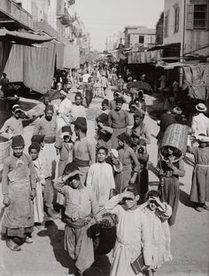 Daily Life: Like the picture shown above, most men in Lebanon go to the market. Women tend to stay home because the tradition and beliefs in Lebanon that men are more powerful than women. This is a picture of a group of boys and men buying food and other supplies.