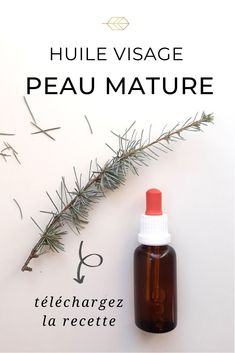 Préparez facilement une huile visage qui contient tout ce qu'il faut pour vieillir avec grâce. #cosmétiquesmaison #DIYbeauté #cosmétiquesnaturels Diy Beauté, Anti Aging Skin Care, Hot Sauce Bottles, Lipstick, Beauty, Green, Homemade Cosmetics, Lipsticks