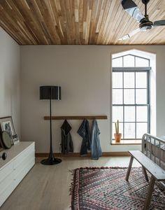 Master bedroom in Cobble Hill duplex by architect Oliver Freundlich | Remodelista