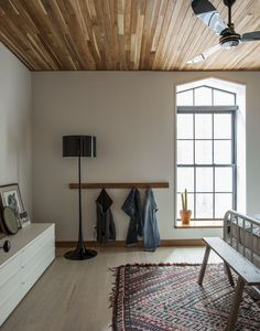 Master bedroom in Cobble Hill duplex by architect Oliver Freundlich | Remodelista