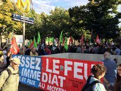 Paris : Rassemblement de soutien aux habitants de la bande de Gaza au mé...