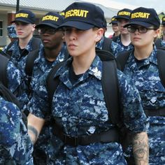 My daughter in boot camp. So very proud of you! Hopefully you're kicking butt.