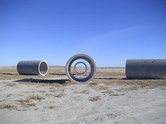 Nancy Holt « Sun Tunnels Women Environmental Artists Directory Great Basin Desert- Utah