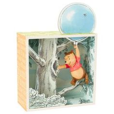 Winnie the Pooh and the Honey Tree Limited-Edition Shadow Box,