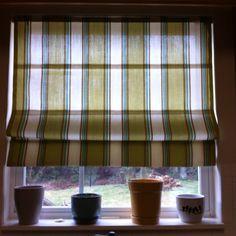 My DIY Roman blinds