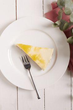 Unterwegs - aber ich hab Euch Kuchen da gelassen: Lemon Curd Kuchen ohne zu backen
