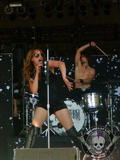 Lzzy Hale and Arejay Hale