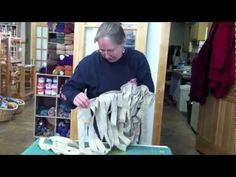 Preparing Fabric Strips for Rag Rugs  shows how to get a very long continuios strip