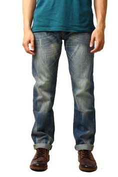 Edberth Shop Celana Jeans Pria - Biru - Int:29