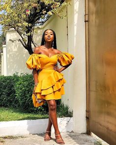 in the summery Lily set from for Afternoon Tea with African Party Dresses, Latest African Fashion Dresses, African Print Fashion, African Wear, African Dress, Dame Chic, Chic Outfits, Fashion Outfits, Black Girl Fashion