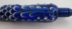 Stylish Handmade Glass beaded pen by TinkerBelzArt on Etsy