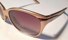gold plastic ARMANI EXCHANGE ladies SUNGLASSES  AX 217/S New Label on Lens NWOB #ARMANIEXCHANGE #RETRO