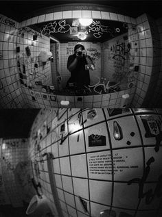 urinate as required Minolta SRT-303 Minolta MC Fish-Eye Rokkor 16mm f/2.8   Ilford HP5 pushed to 1600 developed with LC29 (119 20deg 14min) urinate toilet graffiti tags urban piss mirror selfie fisheye underground urinal film grain analog buyfilmnotmegapixels filmisnotdead stickers washroom dark bokeh push ilford minolta lc29 hp5 budapest backside moody