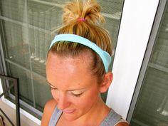 Easy Stretch Headband Tutorial