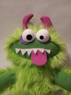 GRUBBLEFUZZ new monster plushes by David by AllHandsProductions, $40.00