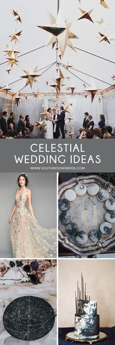Celestial wedding theme details that will make your star themed wedding truly out of this world! Grey Wedding Decor, Mauve Wedding, Black Wedding Cakes, Wedding Themes, Wedding Decorations, Rustic Wedding, Wedding Ideas, Wedding Stuff, Wedding Inspiration