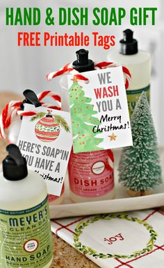 Easy DIY Hostess Gift Idea Holiday Soaps with Free Printable Tags. Easy DIY Hostess Gift Idea Holiday Soaps with Free Printable Tags. Diy Gifts For Christmas, Neighbor Christmas Gifts, Christmas Soap, Neighbor Gifts, Diy Xmas Gifts For Coworkers, Christmas Ideas, Inexpensive Christmas Gifts, Christmas Favors, Office Christmas