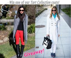 Britt+Whit Giveaway: Win a TART Collection Winter Coat!
