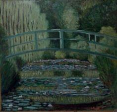 """Copia da """"Le ninfee"""" di Monet"""