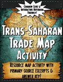Africa Trans-Saharan Trade Resource Map Activity