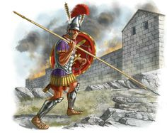ALEXANDER THE GREAT'S HEAVY INFANTRY : THE HYPASPIST (ARTWORK BY JOHNNY SHUMATE).