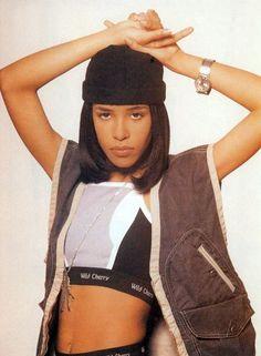 """90shiphopraprnb: """"Aaliyah """""""