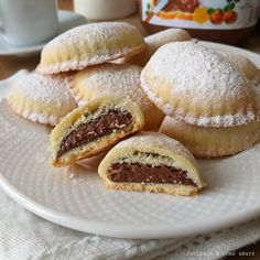Italian Cookies, Italian Desserts, Mini Desserts, Italian Recipes, Box Cake Recipes, Cookie Recipes, Dessert Recipes, Biscotti Cookies, Yummy Cookies