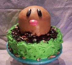 Diglett cake...where is the rest of Diglett?!